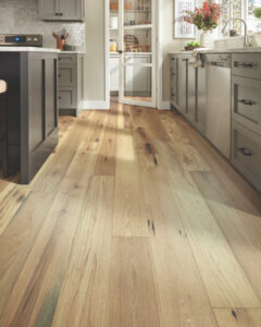The two most common hardwood flooring